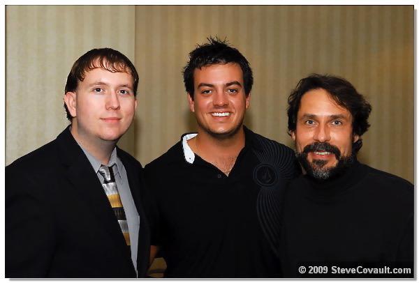 With Eddie Jason Coven & SDSG Contest Winner Anthony Plourd