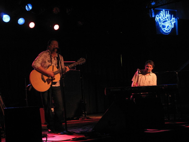 Performing with Brian Darnell at The Belly Up