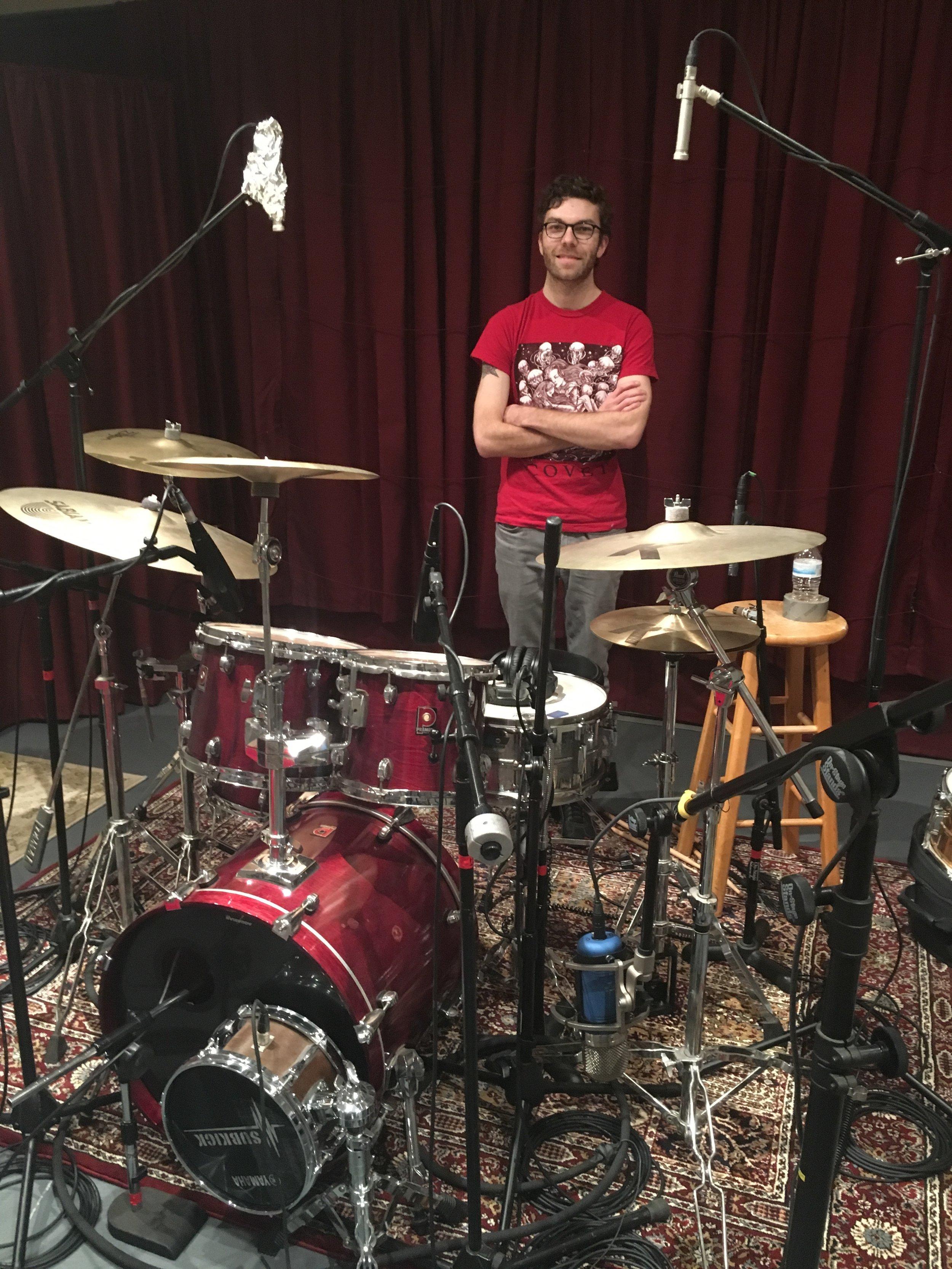 Tracking Vesper Sails' Drums at Rancho Bohemia