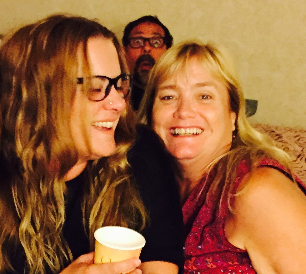 Photo Bombing Hillary & Barby