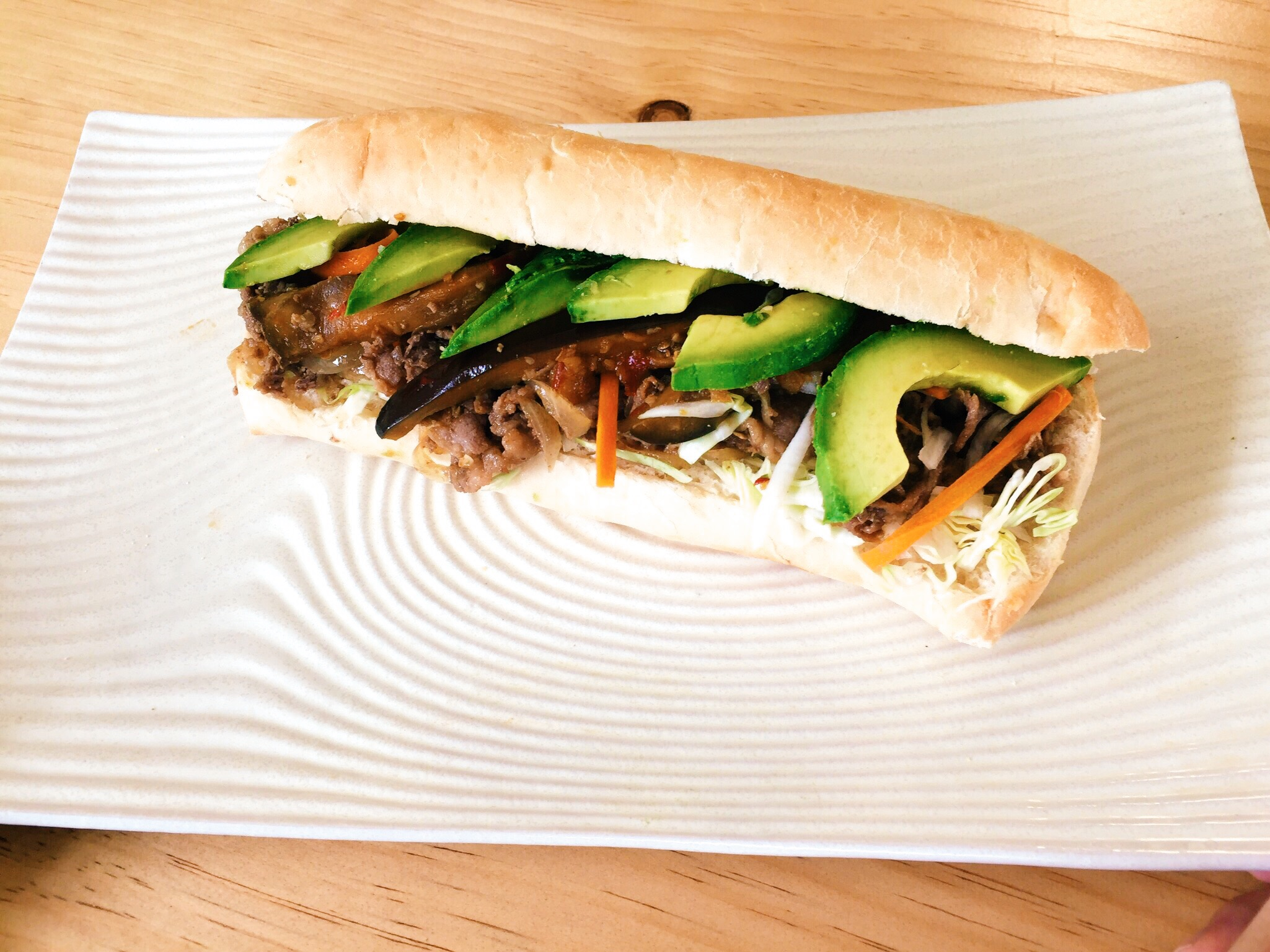 Beef & Avocado Sandwich