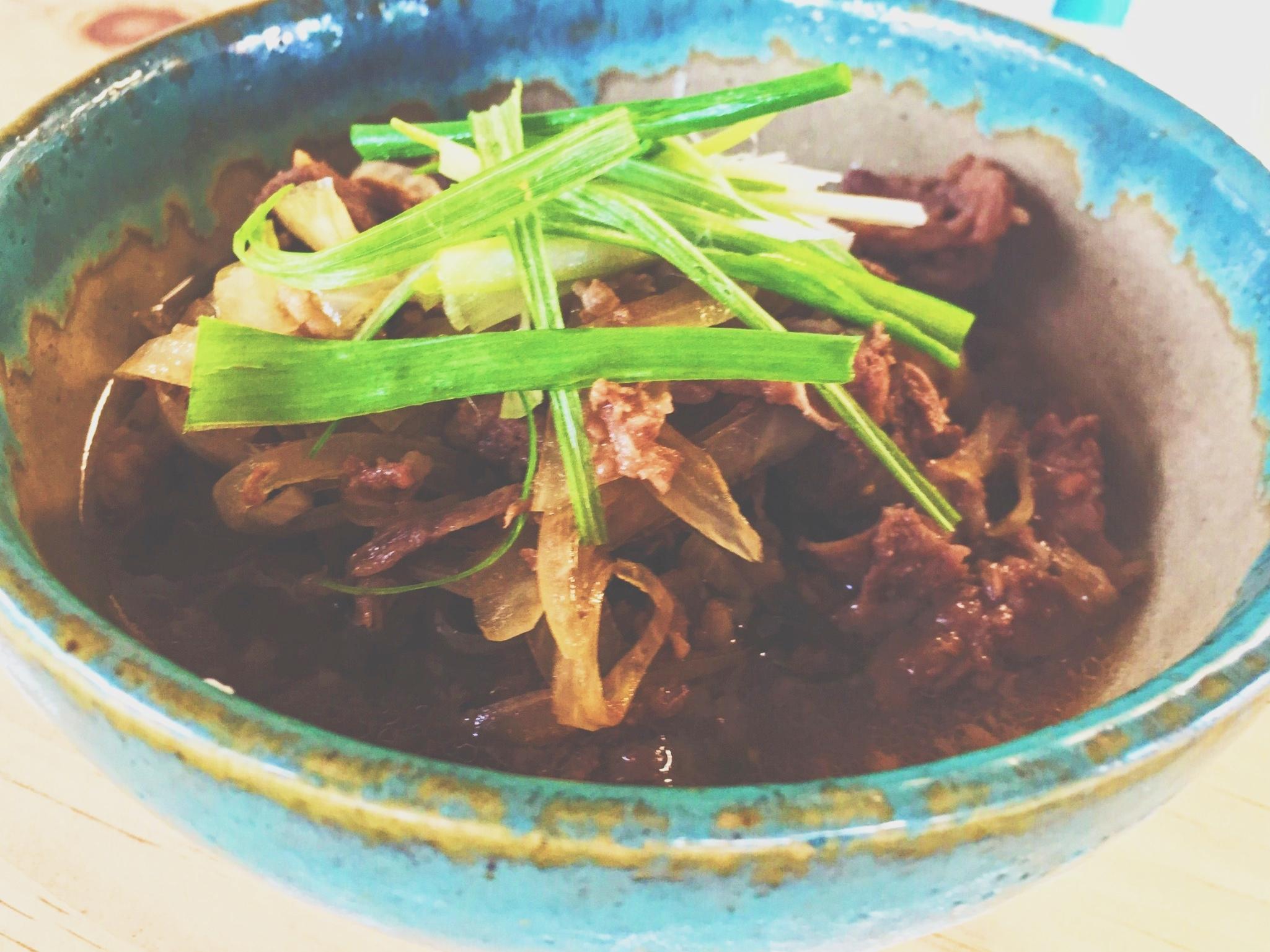 Beef Donburi