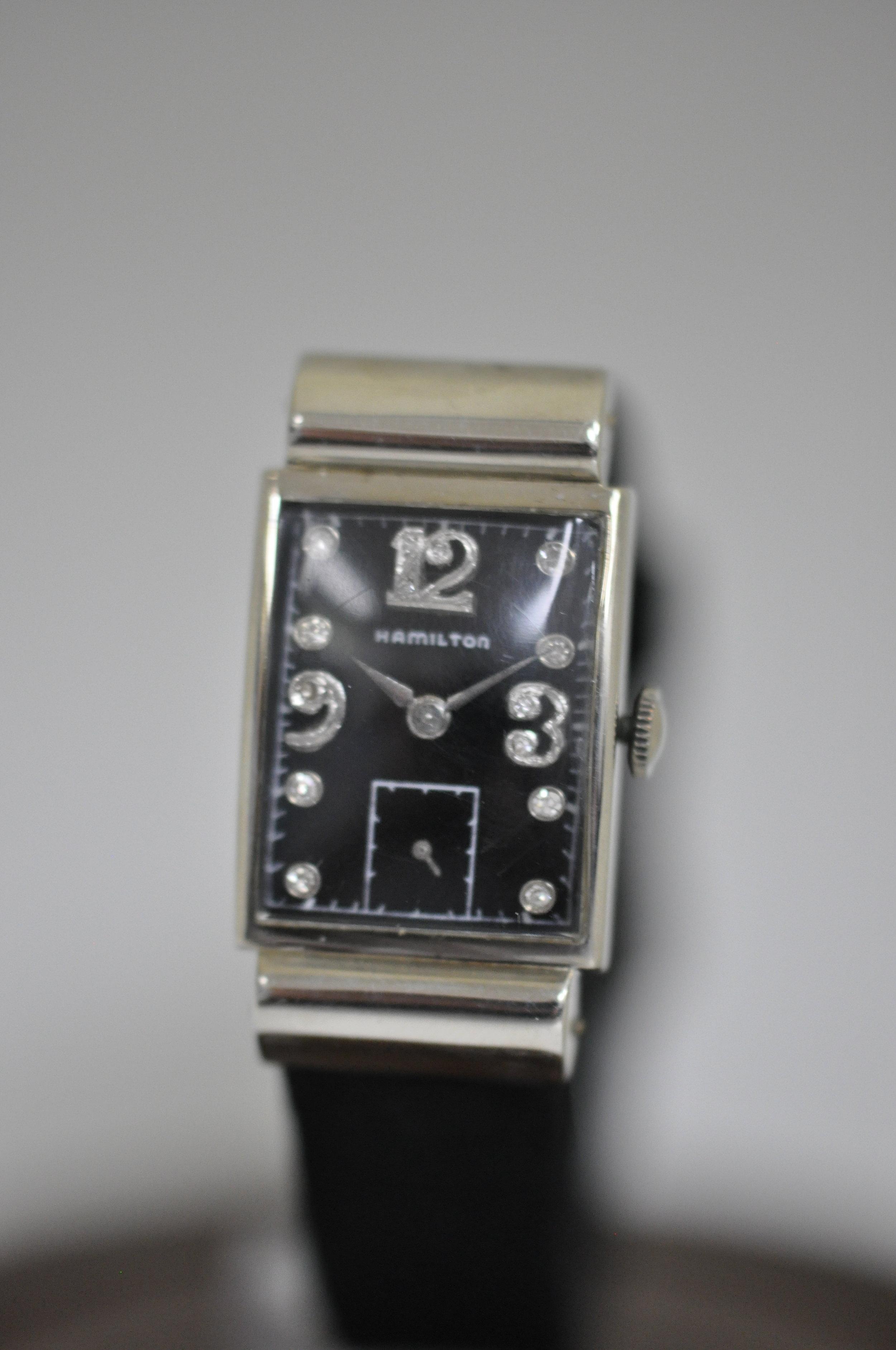 Hamilton 14K Men's Wrist Watch