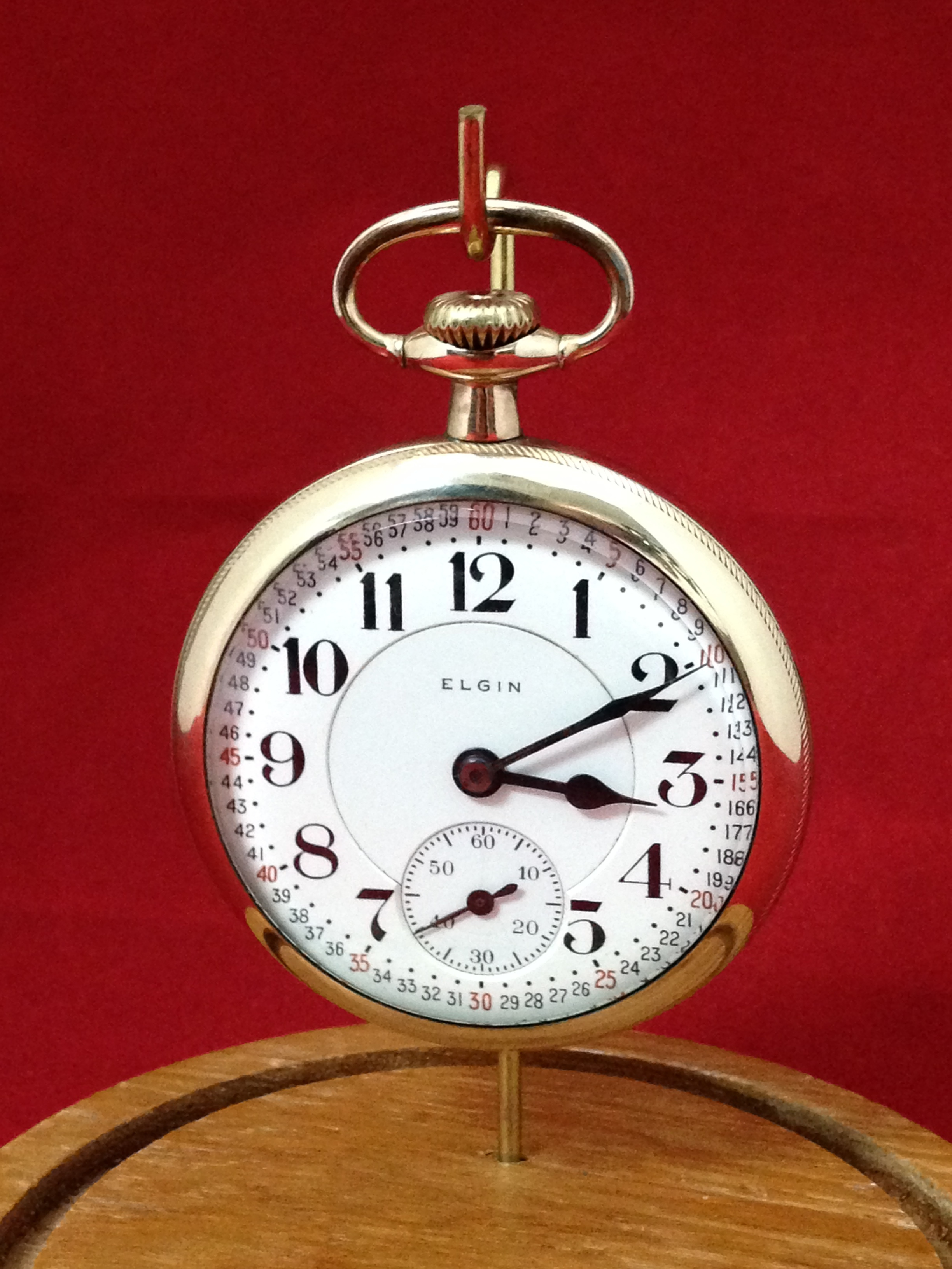 Elgin (Father Time) Pocket Watch