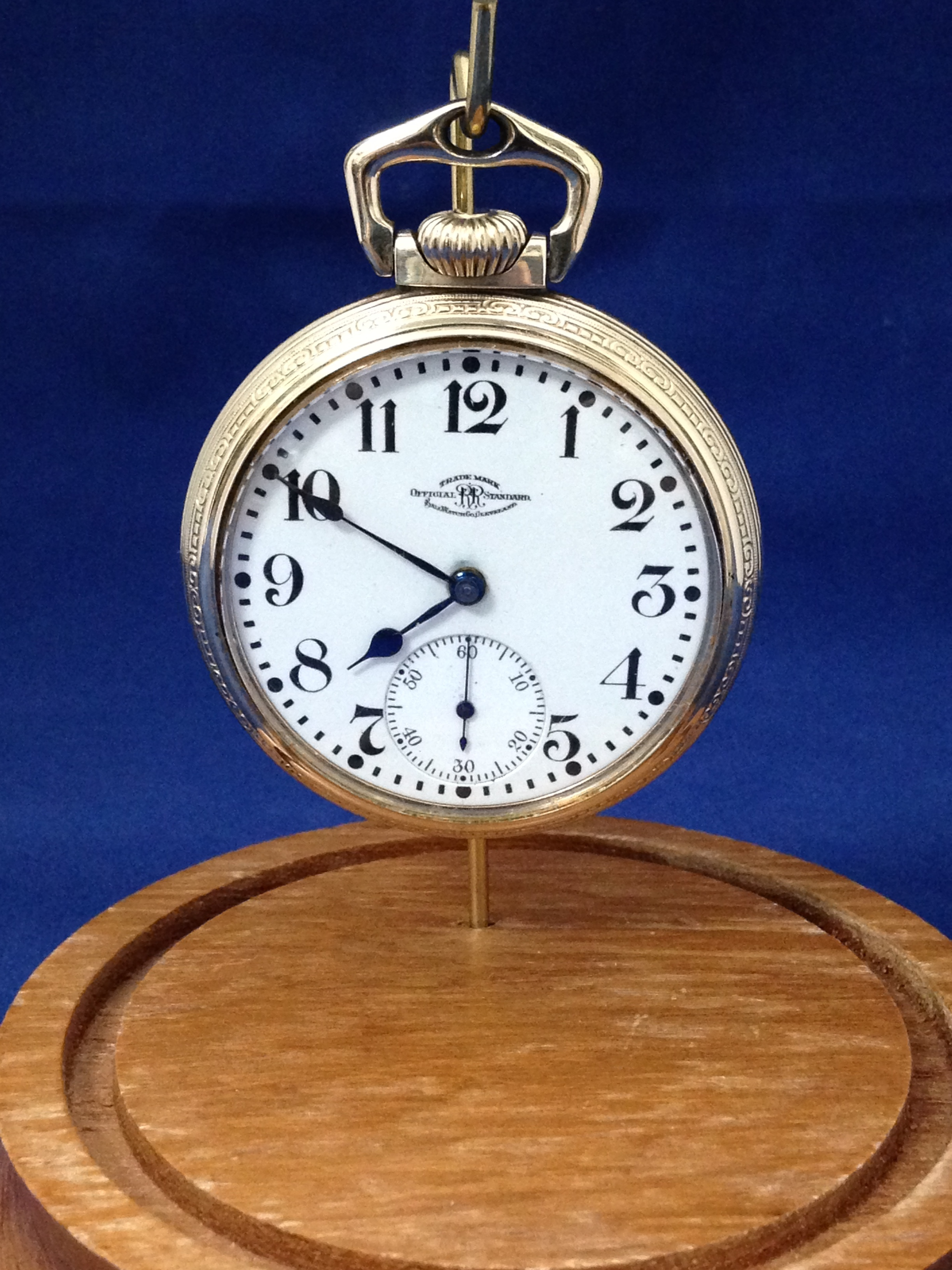 Ball Official Railroad Standard Waltham Pocket Watch
