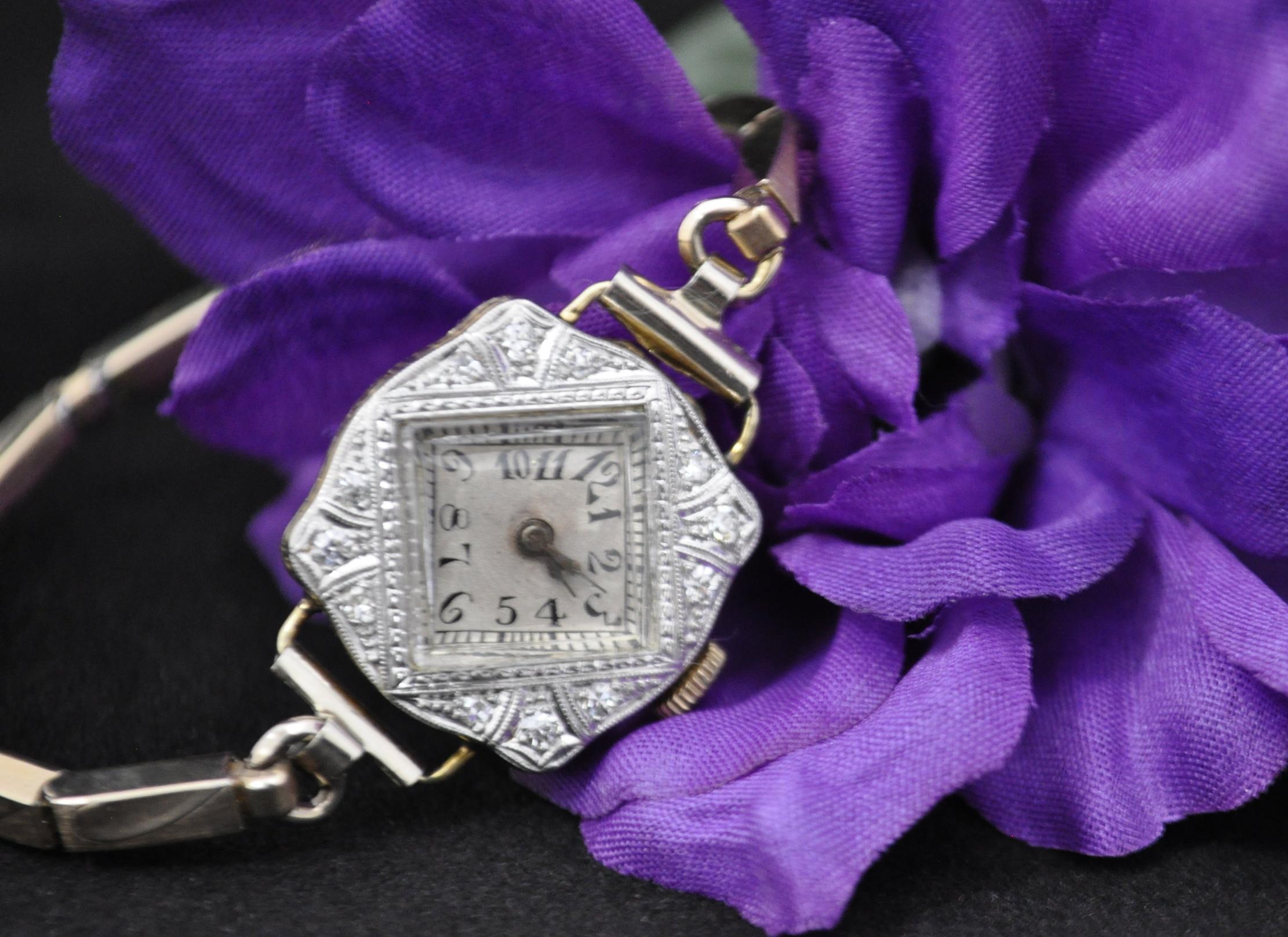 14K PVermot Women's Watch