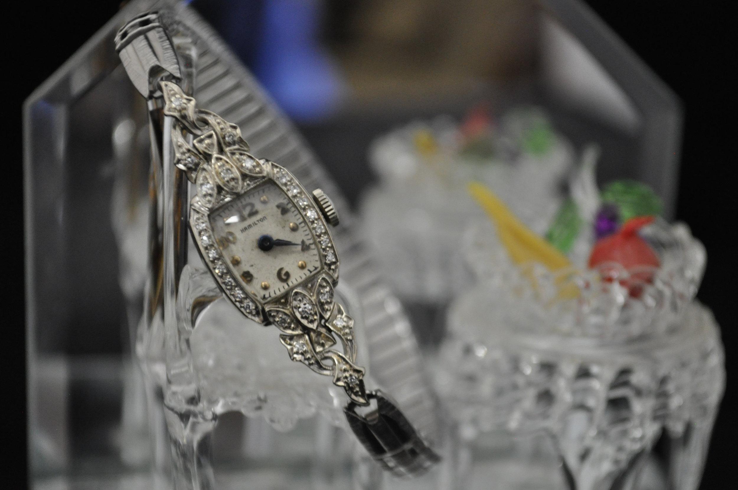Hamilton 14K Women's Diamond Watch