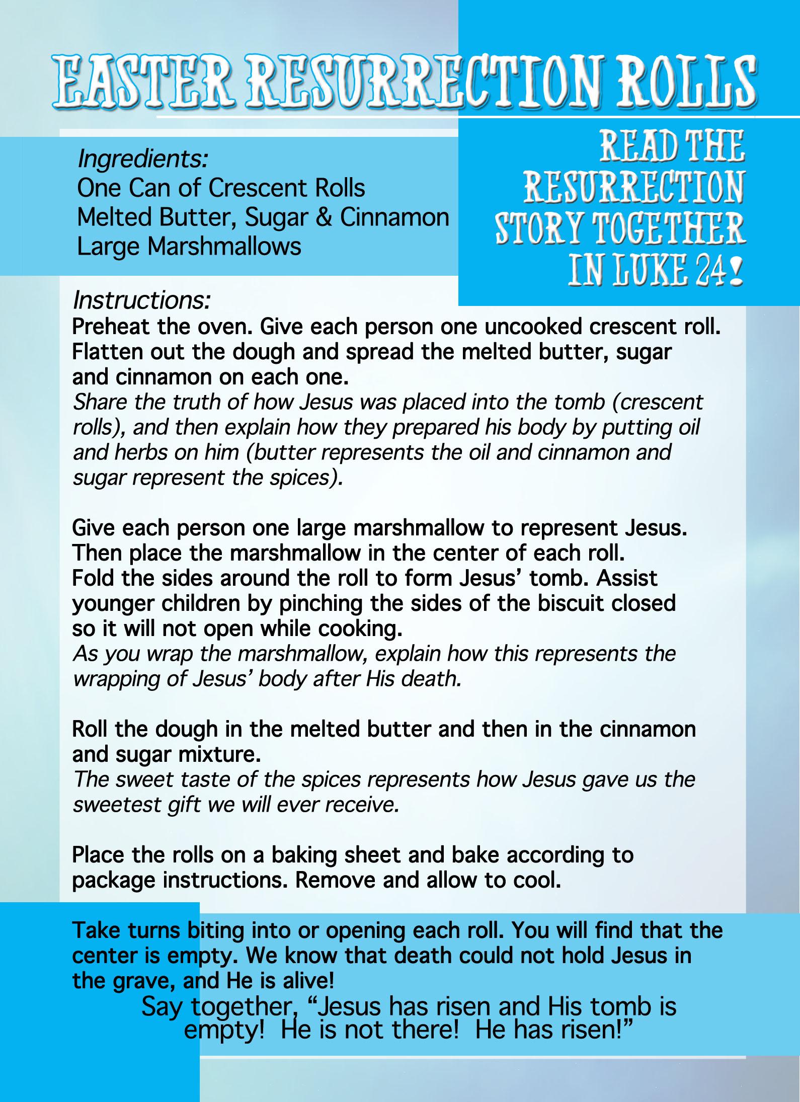 Easter Resurrection Buns Recipe