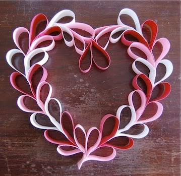 PaperHeartWreath