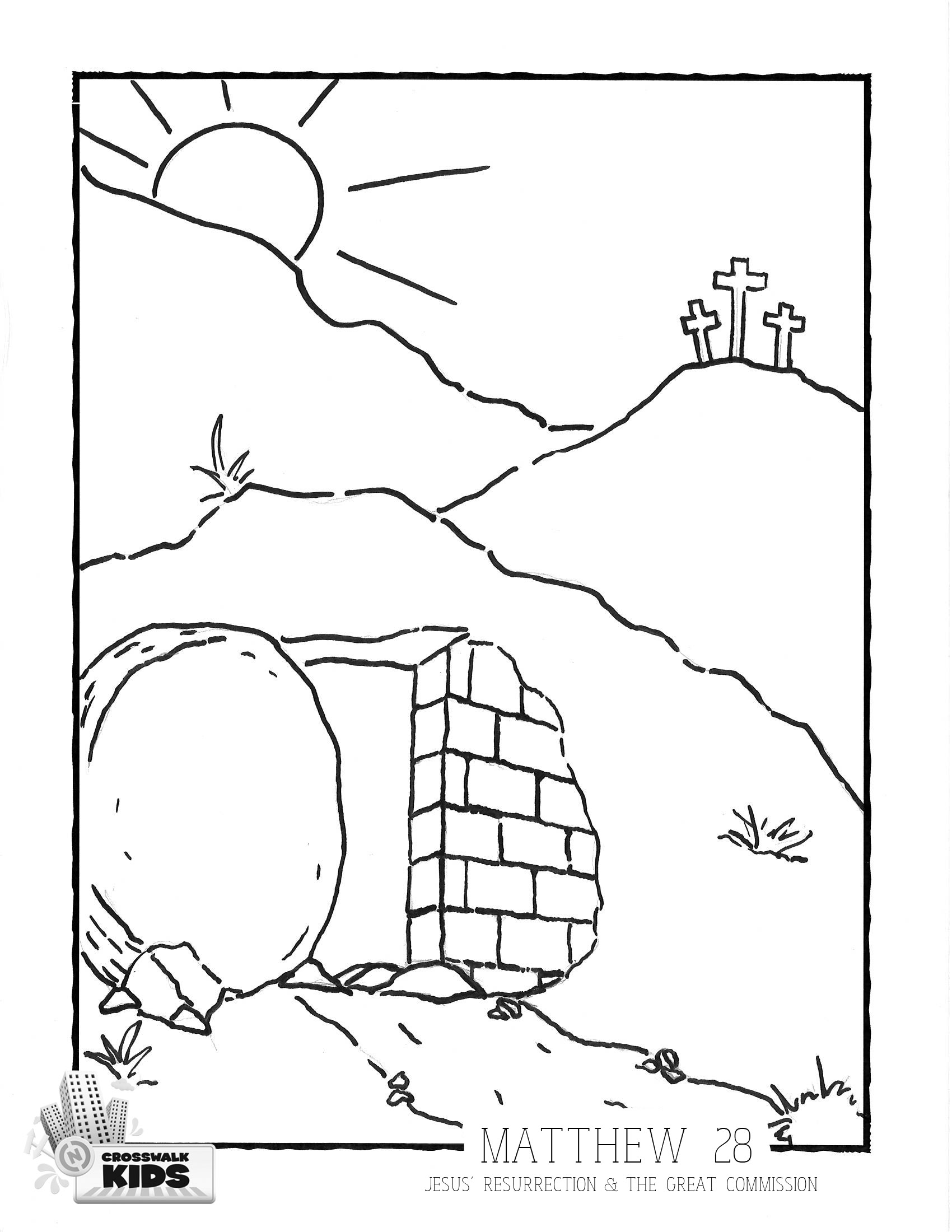 Easter Coloring Page 3