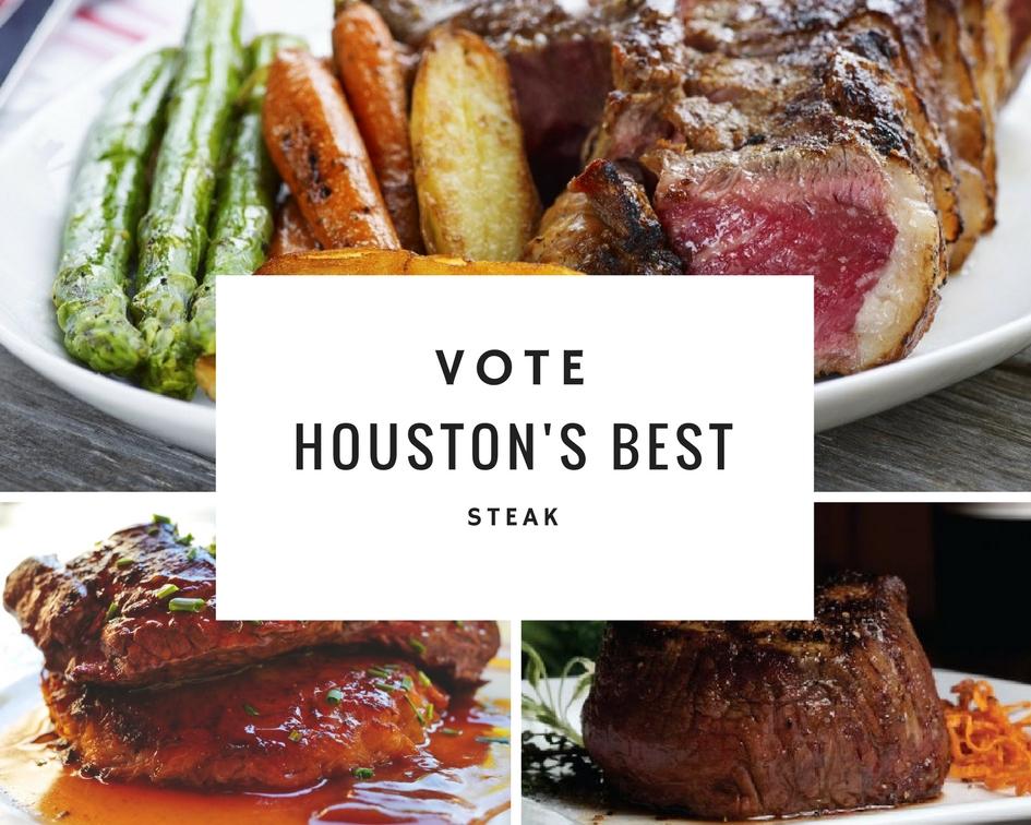 Houston Chronicle - Vote Houston's Best Steakhouse 2017