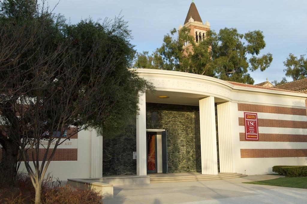 USC Fisher Museum of Art. Photo: USC