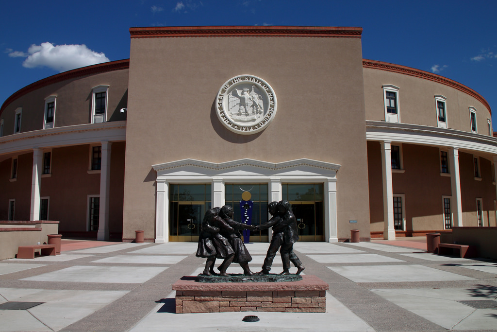 New mexico's state capital building