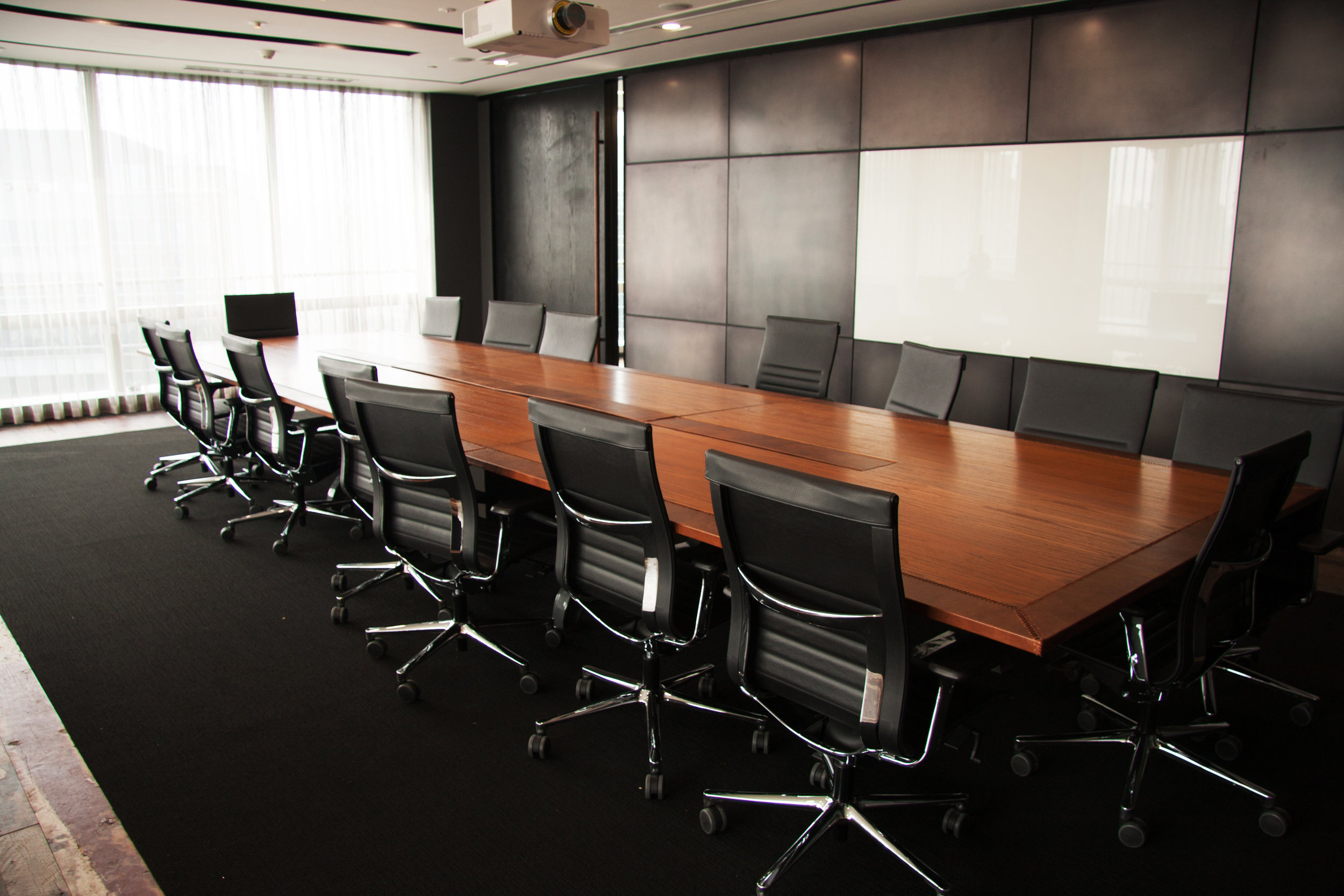 Board fundraising was one item on the agenda. photo: August_0802 /shutterstock