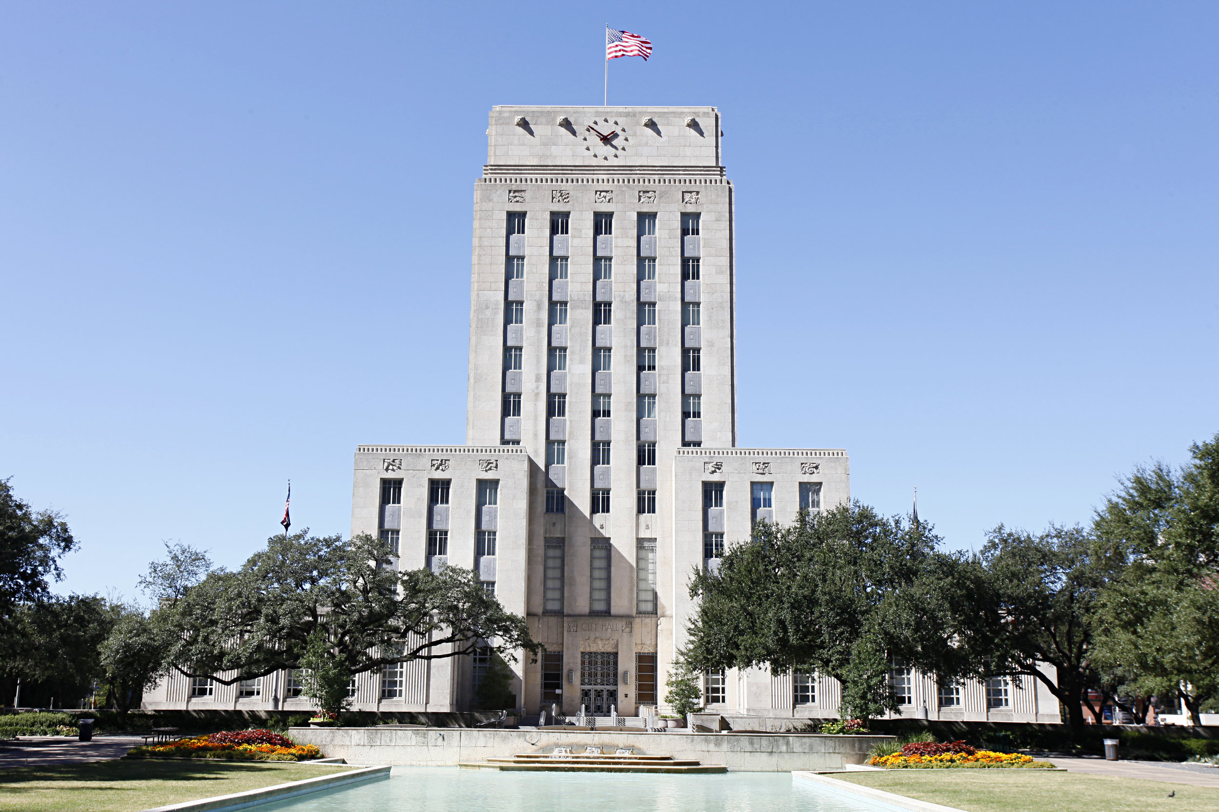 Houston's City hall. photo:  VanHart/shuttersock