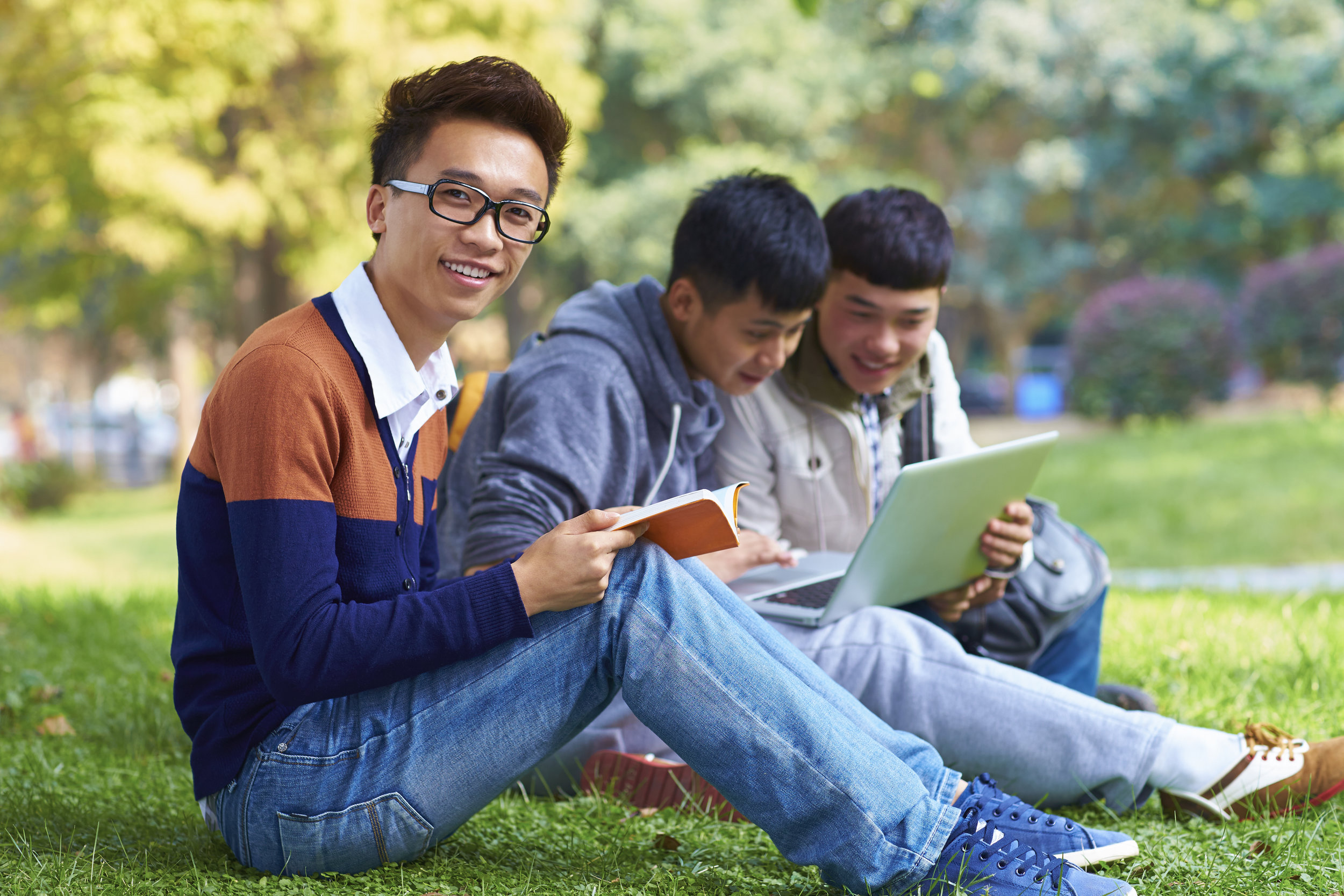 Tomorrow's campus donors? photo:Bo1982/shutterstock