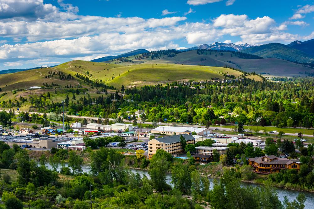 Missoula, Montana. Photo: Jon Bilous/shutterstock