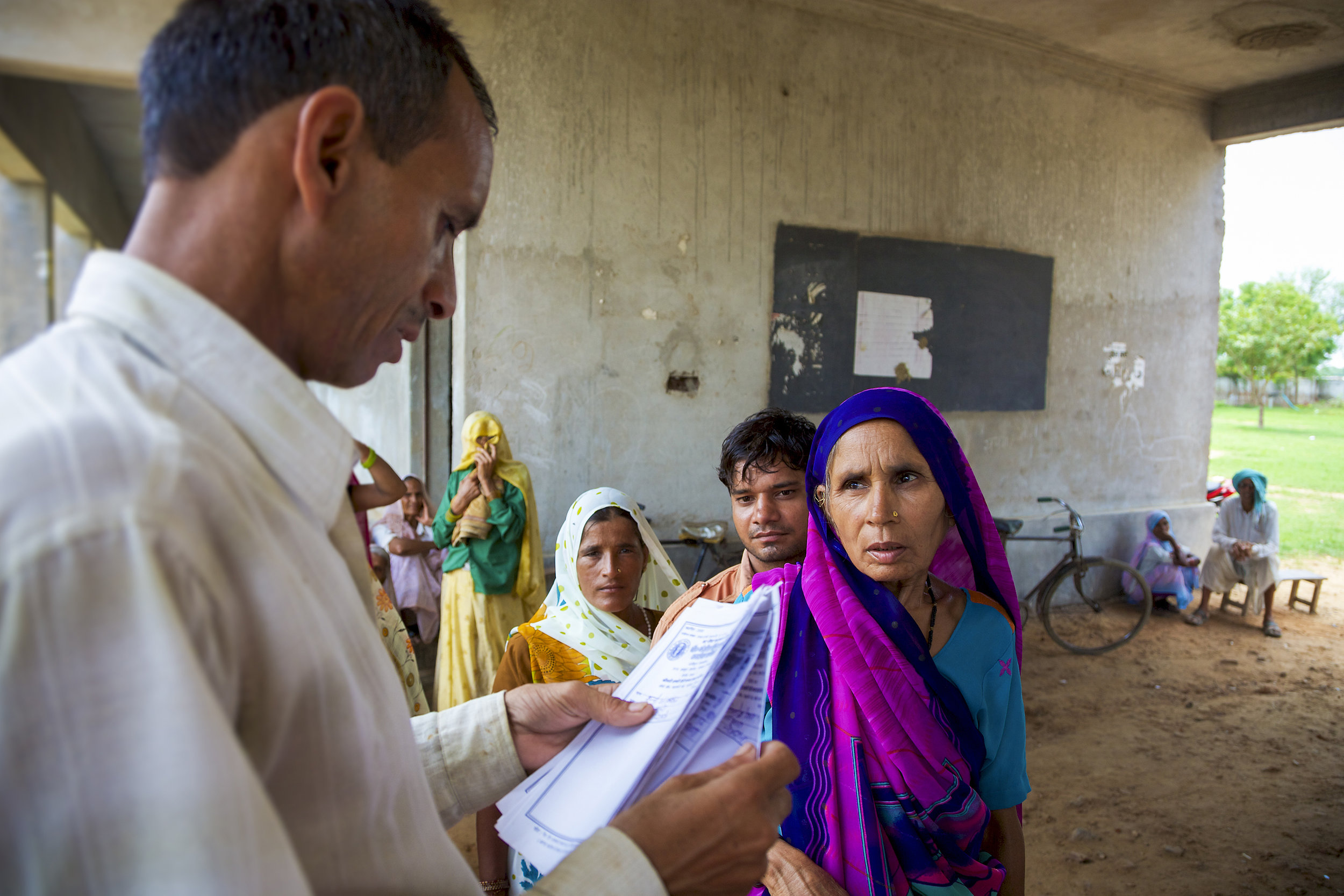 Indians waiting to see a doctor. photo:Michel Piccaya/shutterstock