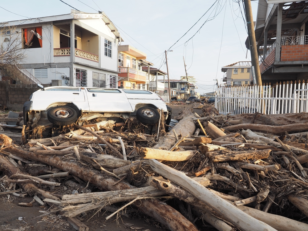 damage from hurricane maria. photo: JEAN-FRANCOIS Manuel/shutterstock