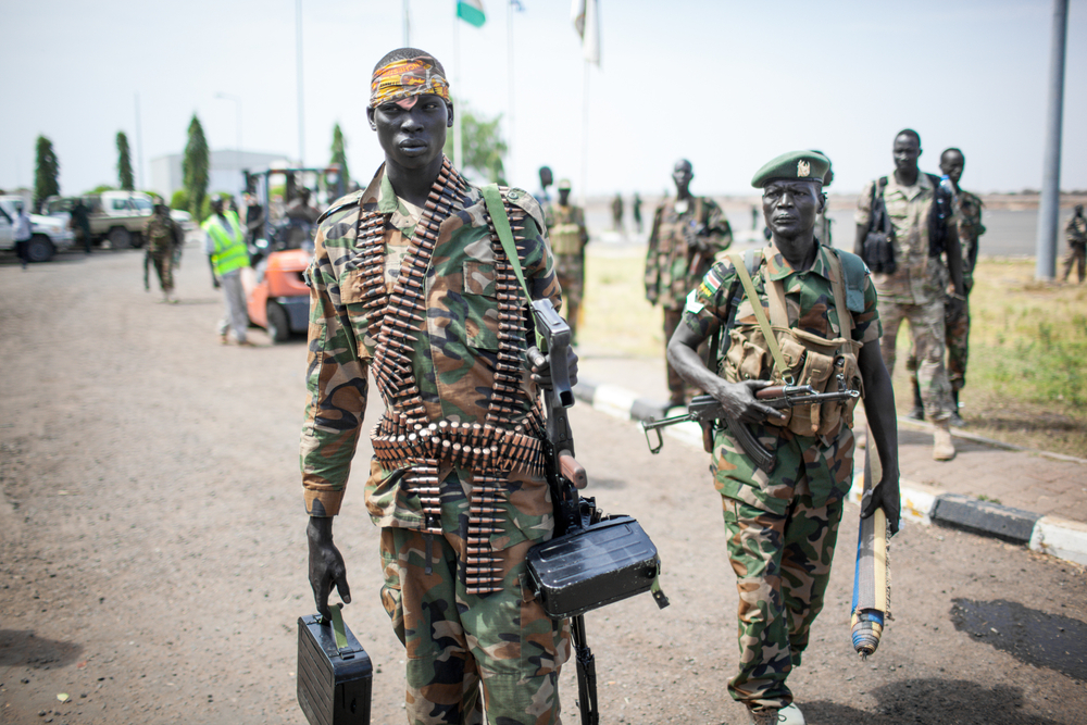 Soldiers in South Sudan. Photo: Punghi/shutterstock