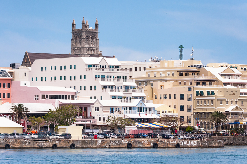 Hamilton, Bermuda. Photo: Andres Virviescas/shutterstock