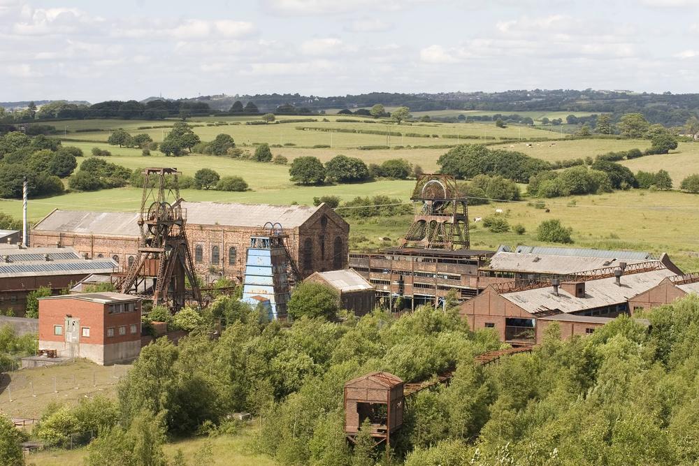 A closed coal mine. photo:Paul Gibbings/shutterstock