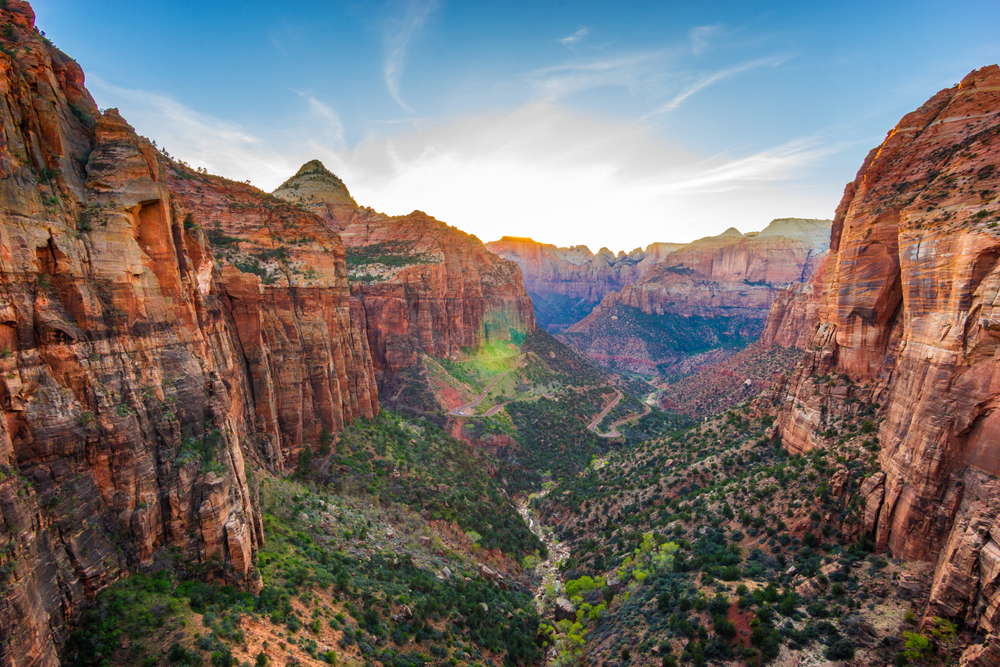 Zion National Park. photo:  Asif Islam/shutterstock