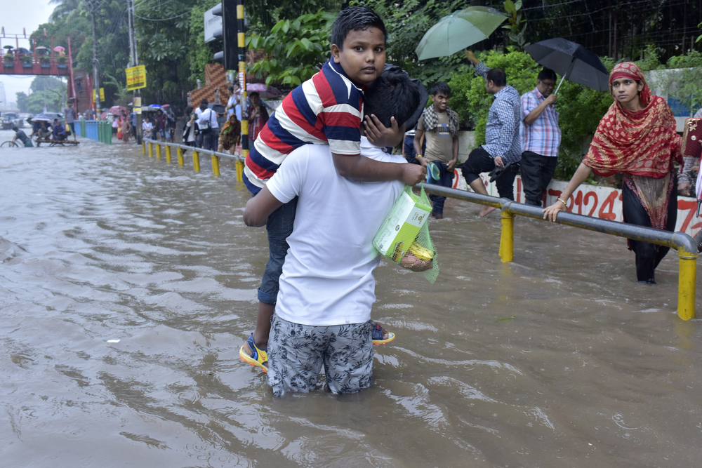 flooding in bangladesh. PHoto:Sk Hasan Ali/shutterstock