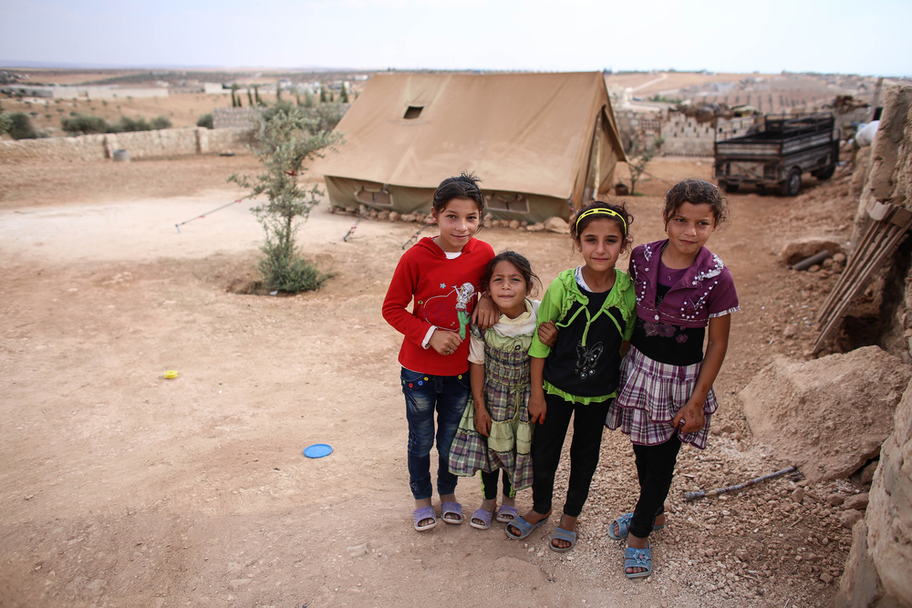 Syrian refugee children.  Photo: Din Mohd Yaman/shutterstock