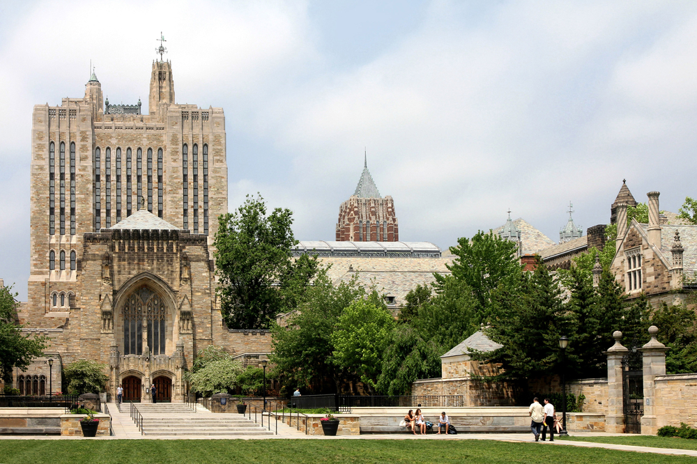 Yale university. PHoto:  Pete Spiro/shutterstock