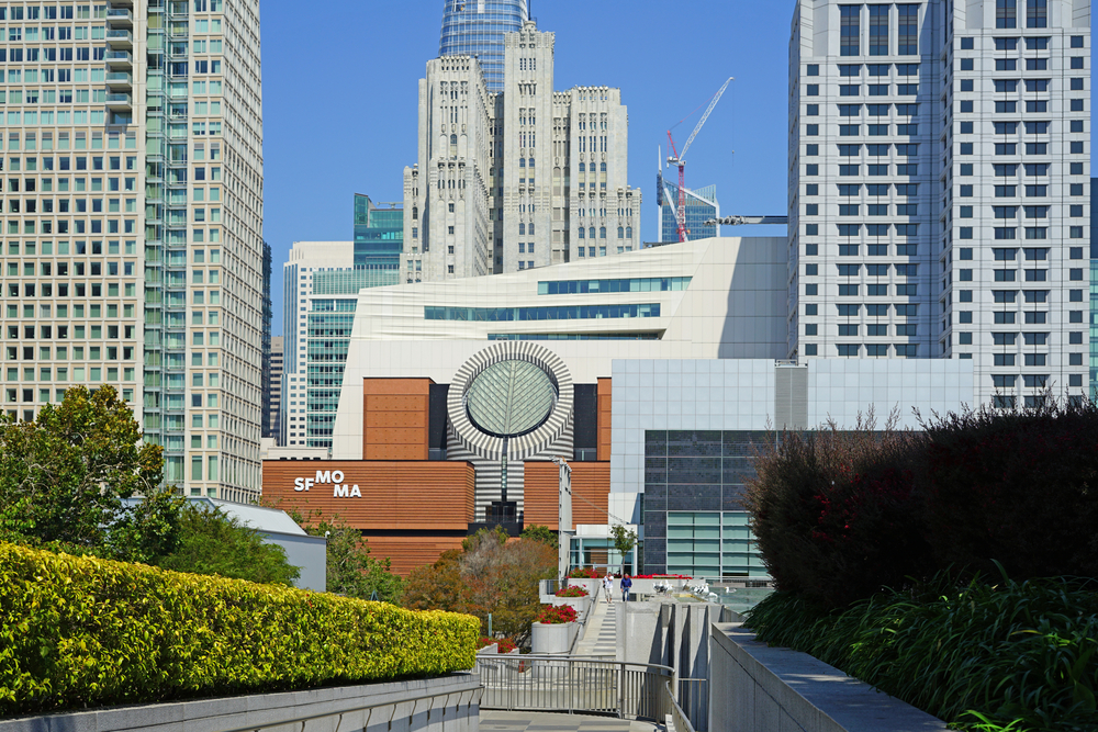 SFMOMA was among koret's recent grantees. photo: EQRoy/shutterstock