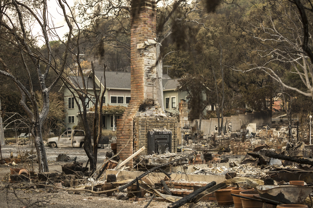 A former home in Sonoma County. photo:RebeccaJaneCall/shutterstock