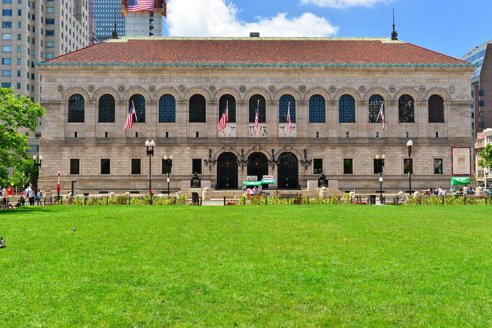 The Boston Public LIbrary. photo:Richard Cavalleri/shutterstock