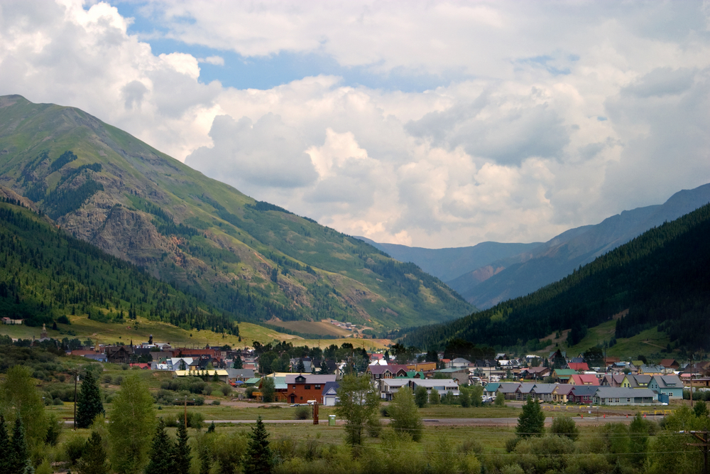 A rural town in Colorado.  Photo: Ken Hurst/shutterstock