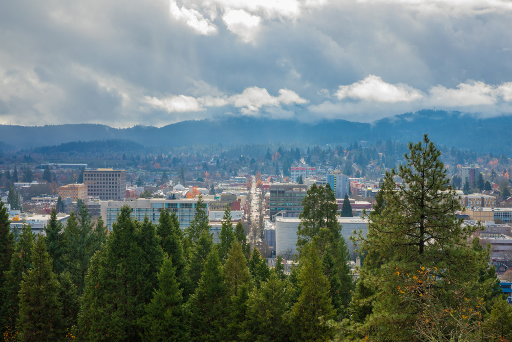 Eugene, OR. photo:  Joshua Rainey Photography/shutterstock