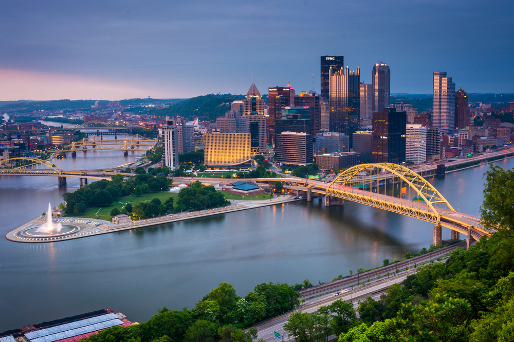 pittsburgh. photo: ESB Professional/shutterstock