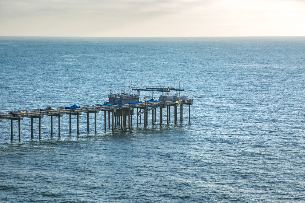 The scripps pier.Jason Finn/shutterstock