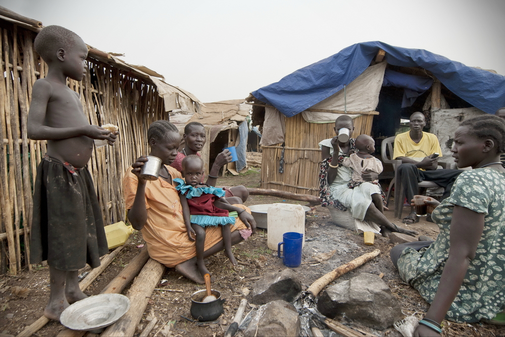 Refugees in south sudan.Vlad Karavaev/shutterstock