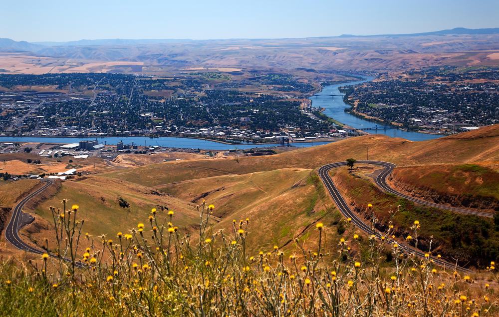 Lewiston, Idaho. photo: bill perry/shutterstock
