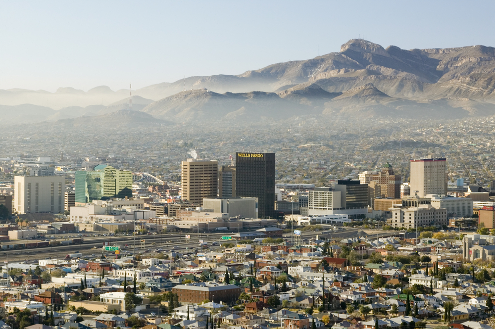 Downtown El Paso, TX. photo: Joseph Sohm/shutterstock