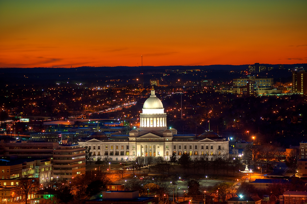 Little Rock, Arkansas. photo: mnapoli/shutterstock