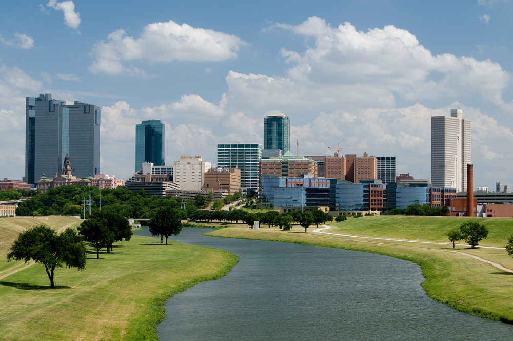 Fort Worth. photo: bobcooltx/shutterstock