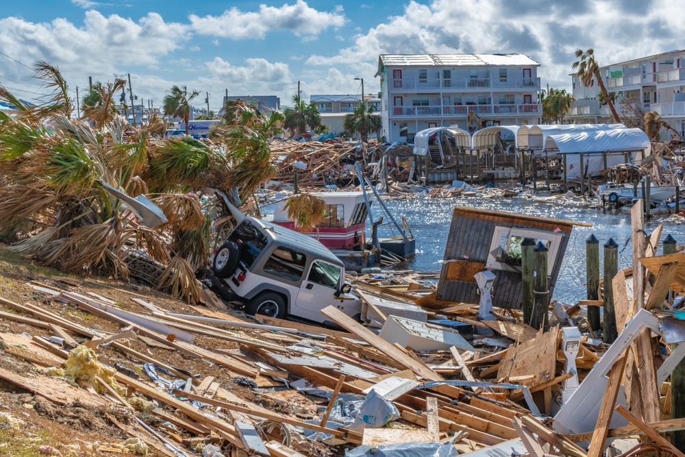 Mexico Beach, Fl. October 2018. Terry Kelly/shutterstock