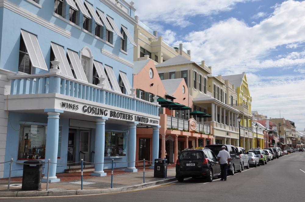 Hamilton, Bermuda. Ritu Manoj Jethani/shutterstock