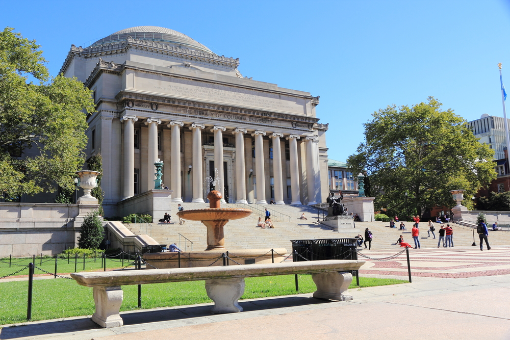Columbia university is among the beneficiaries of mcmanus giving. LENS-68/shutterstock