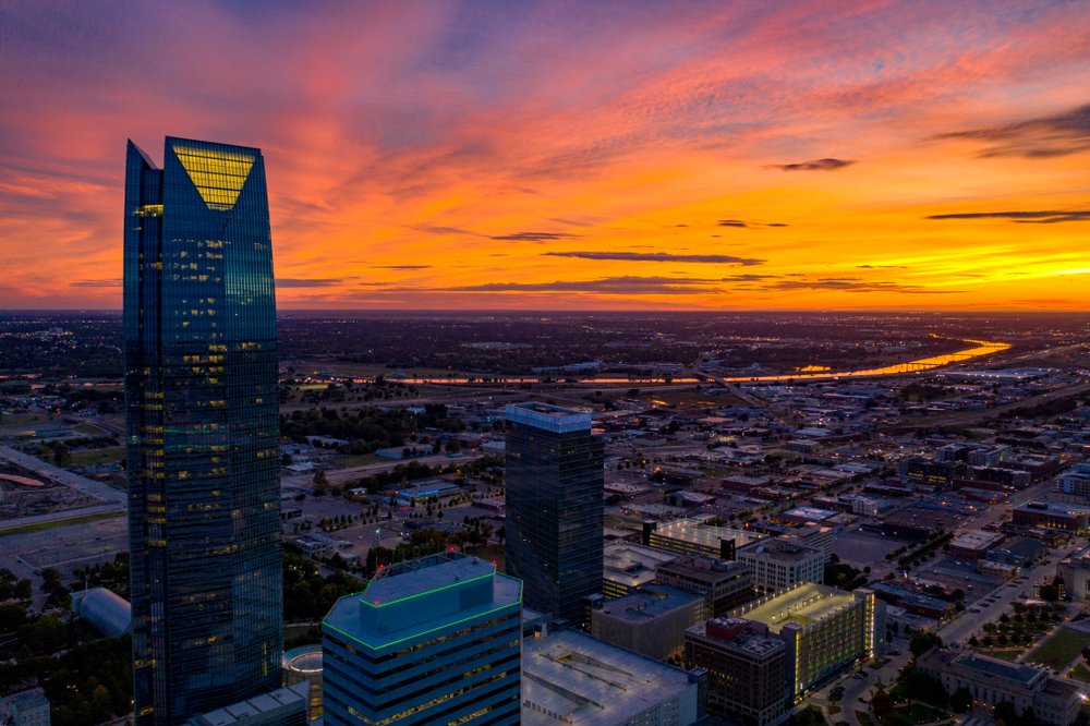 Oklahoma City. Vision Trail Media/shutterstock