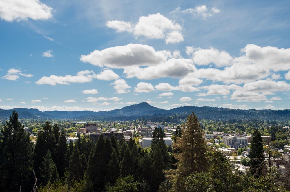 Eugene, Oregon. J.Robert Williams/shutterstock