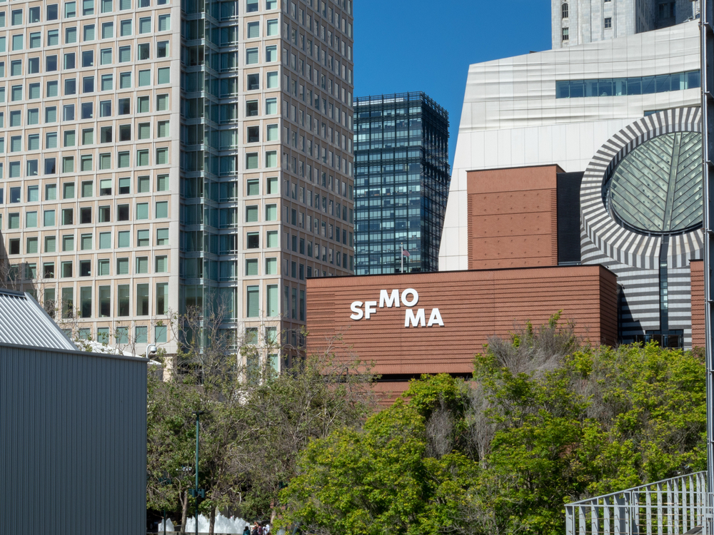 the SFMOMA is among the recipients of gifts from Nancy and Joachim Bechtle. Photo: David Tran Photo/shutterstock