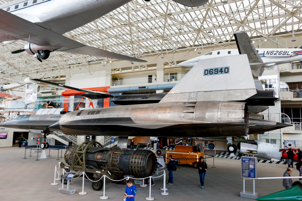 The Seattle Museum of Flight. photo: alabn/shutterstock