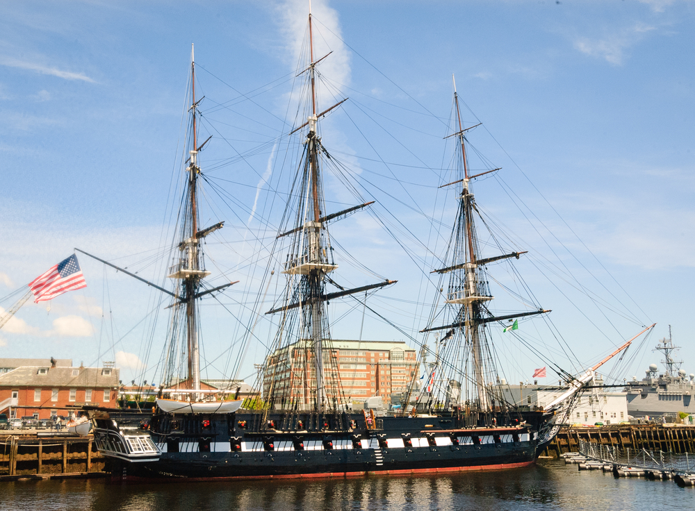 The uss constitution museum is among the foundation's recent grantees. Zack Frank/shutterstock